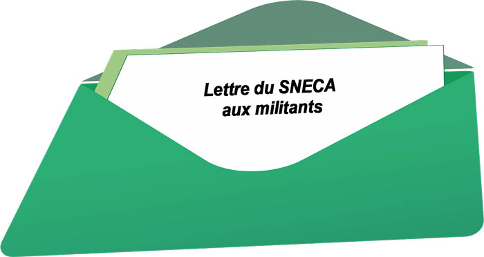 Lettre Sneca aux militants 04/11/2019