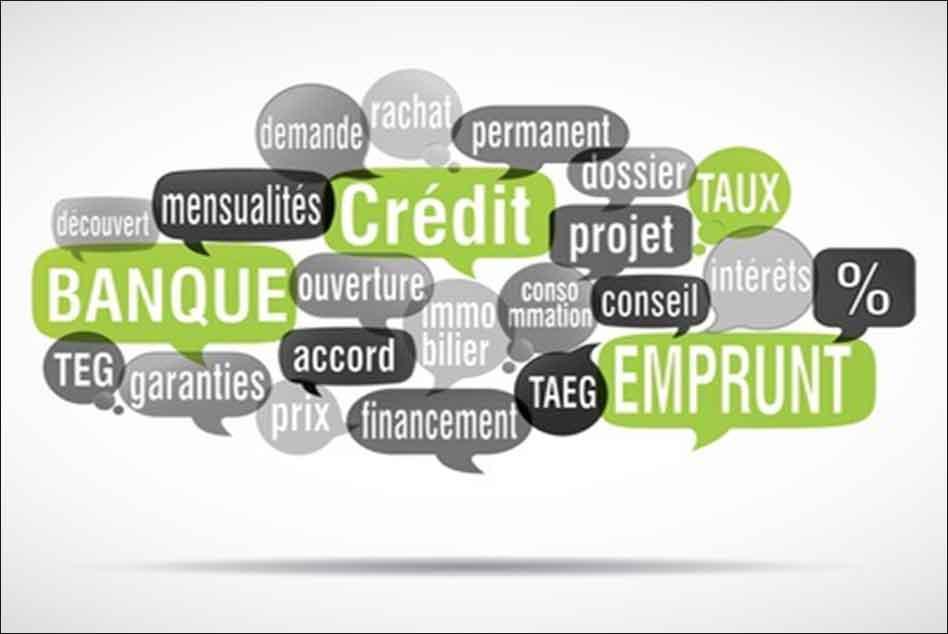 Crédit-banque-emprunt