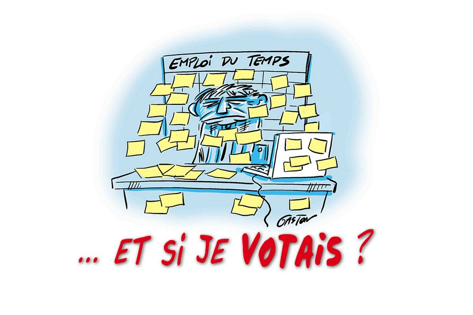 Emploi du temps et si je votais